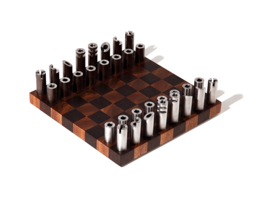 Modern Chess Set The Construction Zone